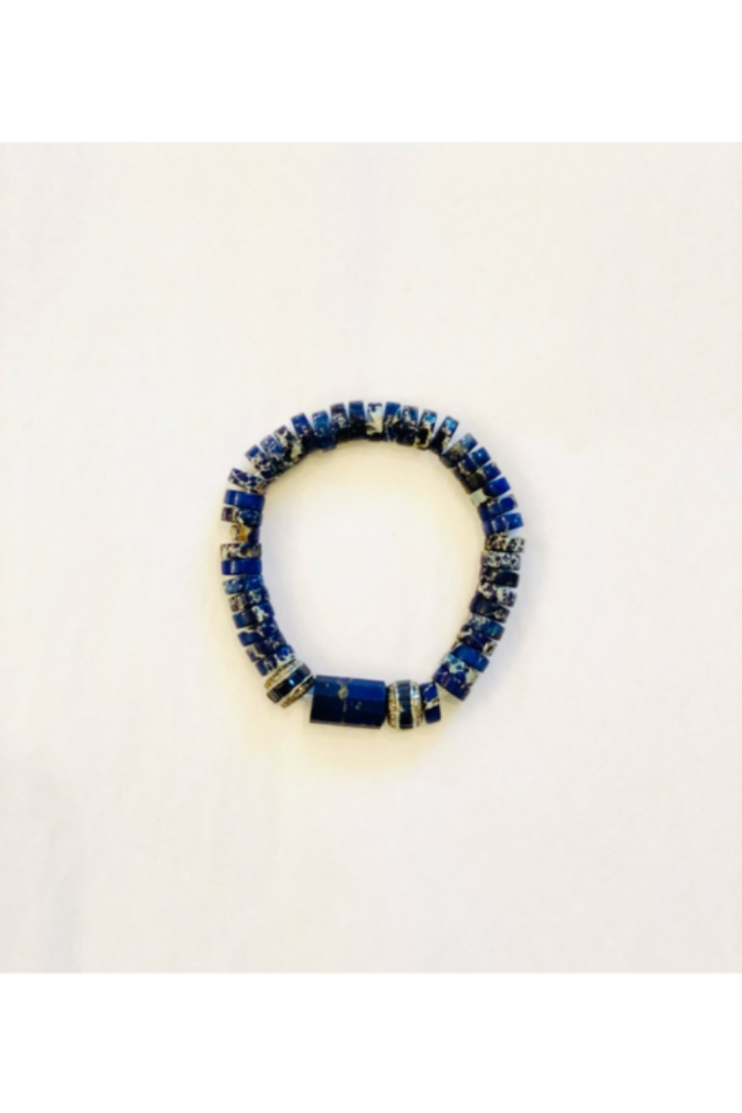 The Woods Fine Jewelry  Lapis with Paves Multiple - Front Full Image