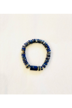 The Woods Fine Jewelry  Lapis with Paves Multiple - Alternate List Image