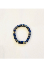 The Woods Fine Jewelry  Lapis with Paves Multiple - Front full body