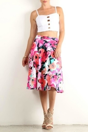 Lara Floral a-Line Skirt - Product Mini Image