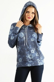 Lara Floral Terry Hoodie - Other