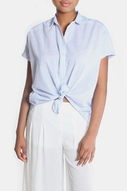 Lara Oversized Striped Button Down - Other