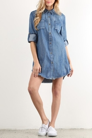 Lara Fashion Denim Dress - Product Mini Image