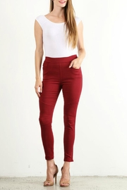 Lara Fashion Moto Jeggings - Product Mini Image
