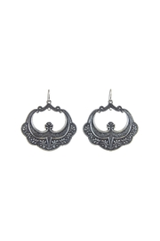 Diane's Accessories Large Basket Earrings - Product Mini Image
