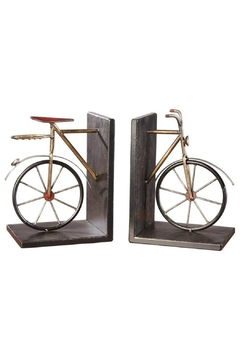 Crestview Collection Large Bicycle Bookends - Alternate List Image