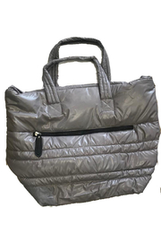 Sondra Roberts Large  Black Puffer Tote - Product Mini Image