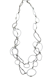 Accessorizit Large circle long necklace - Product Mini Image