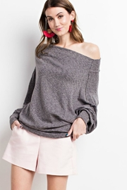 easel Large Collar Knit - Product Mini Image
