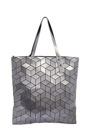 INZI Large Geometric Tote - Product Mini Image