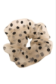 Fame Accessories Large Hair Scrunchie - Front full body