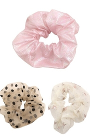 Fame Accessories Large Hair Scrunchie - Front cropped