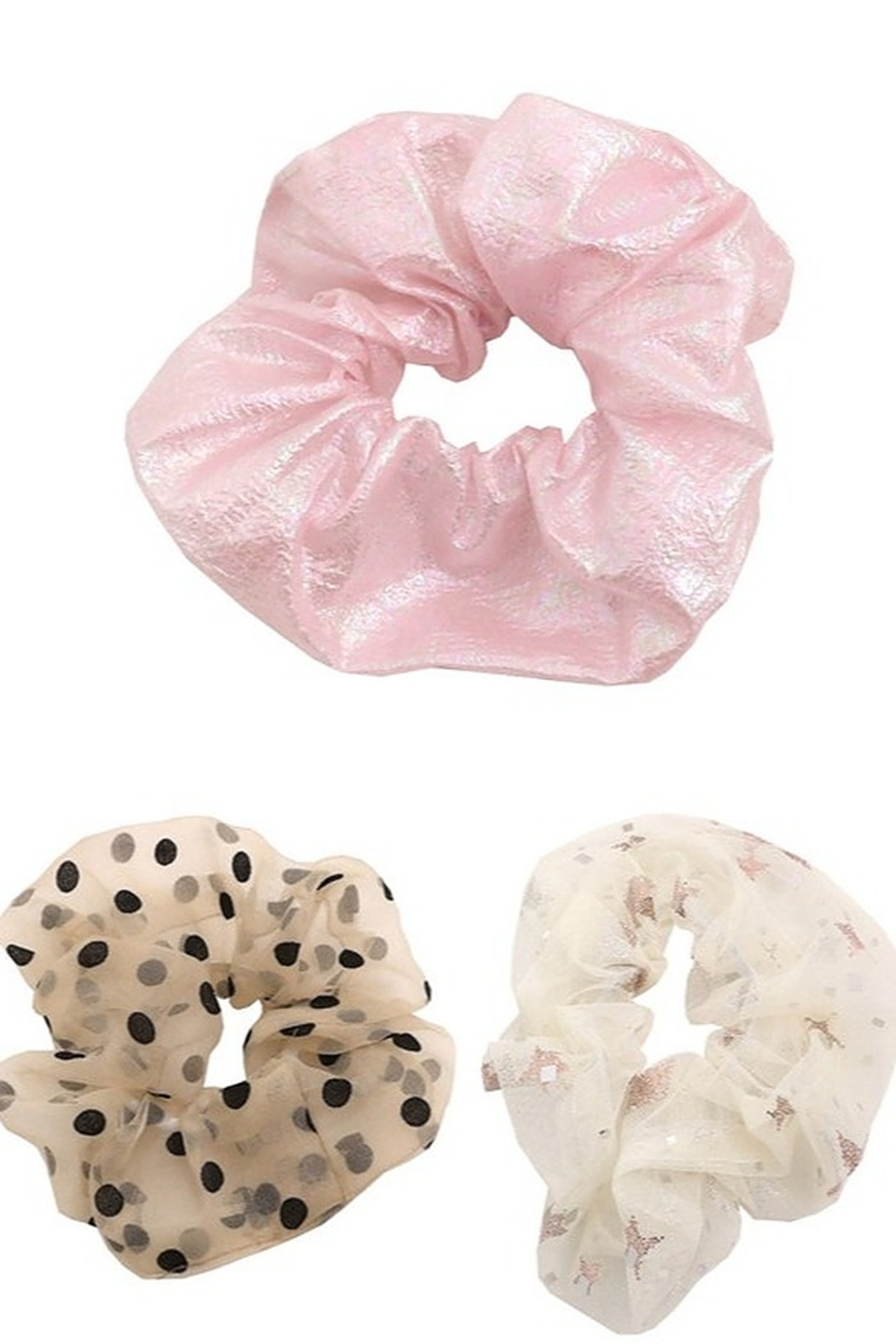 Fame Accessories Large Hair Scrunchie - Main Image