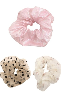 Fame Accessories Large Hair Scrunchie - Product List Image