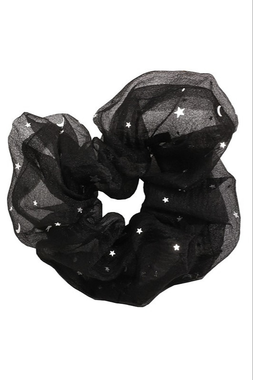 Fame Accessories Large Hair Scrunchie - Front Full Image