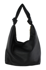 Street Level Large Hobo W/ Knot Handle Detail - Front cropped