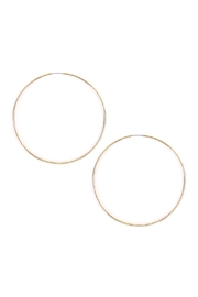 Riah Fashion Large Hoop Earrings - Product Mini Image