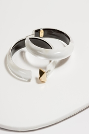 Alexis Bittar Large Hoop Earrings - Product Mini Image