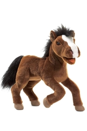 Folkmanis Large Horse Puppet - Front cropped