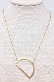 LARAD Large Initial Necklace - Side cropped