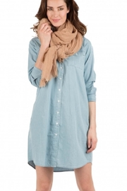 American Vintage Large Linen Scarf - Product Mini Image