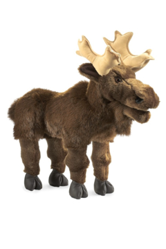 Folkmanis Large Moose Hand Puppet - Product List Image