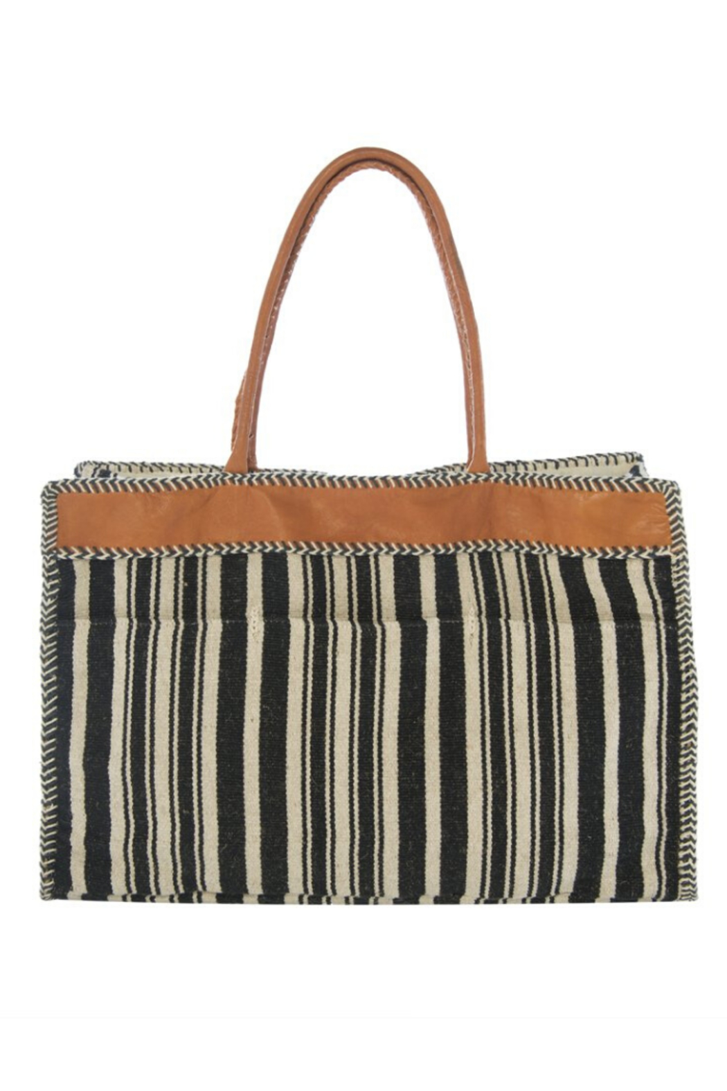 Annie Mame Large Naomi Tote - Front Cropped Image