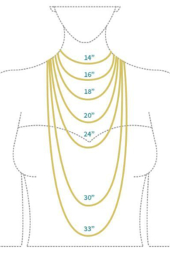 Market and King Large Pave clasp necklace - Alternate List Image