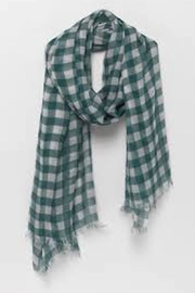 American Vintage Large Plaid Scarf - Product Mini Image
