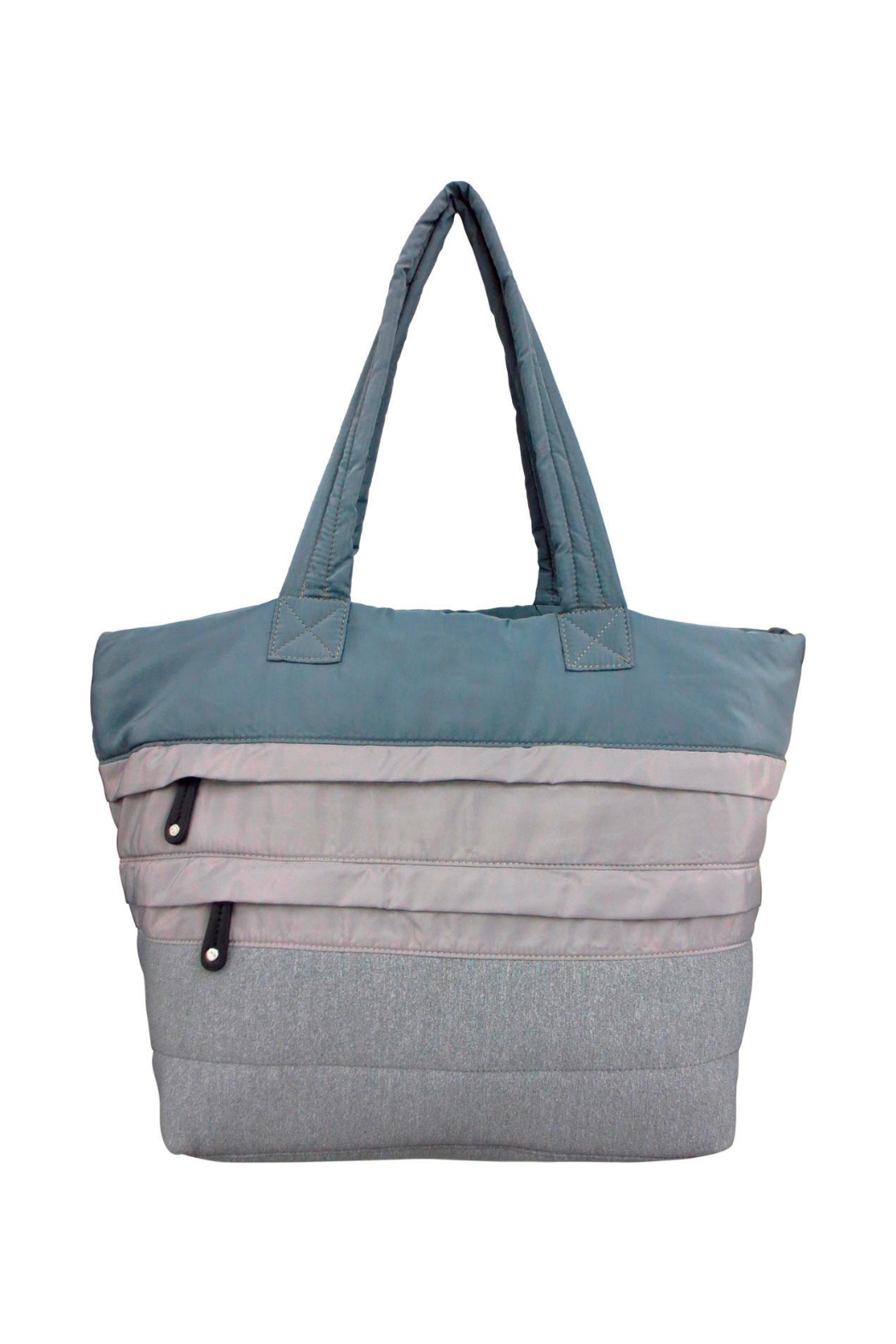 Sondra Roberts Large Puffer Tote - Front Cropped Image