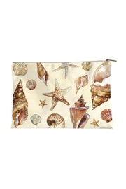 Sally Eckman Roberts Large Seashells Pouch - Product Mini Image