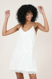 Molly Bracken Large Sequin Cocktail Dress - Product Mini Image
