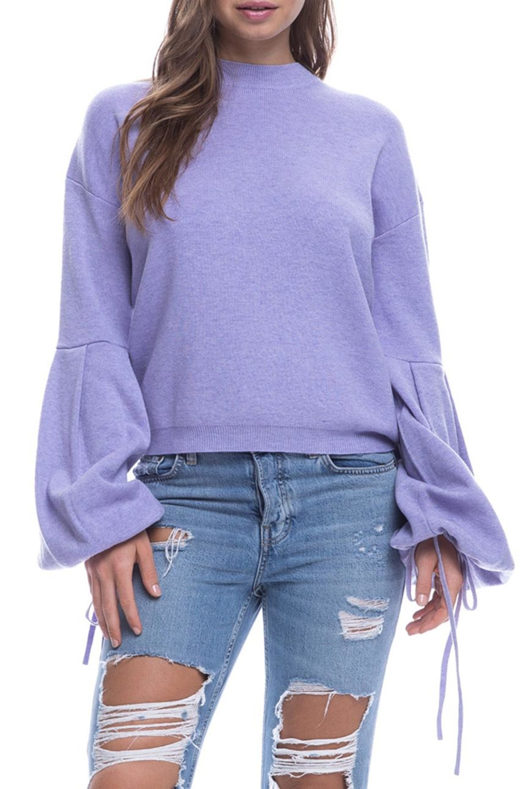 9dcac064cfee4 After Market Large Sleeve Sweater from New York by Dor L Dor ...