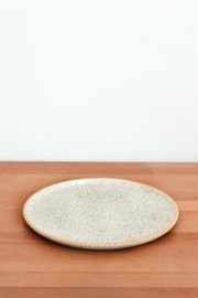 Dompierre Ceramics Large Speckled Plate - Product Mini Image