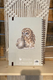Wrendale Designs Large Spiral Journal - Front full body