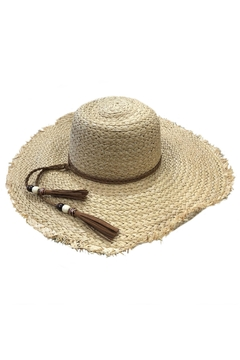 Love of Fashion Large Straw Sunhat - Alternate List Image