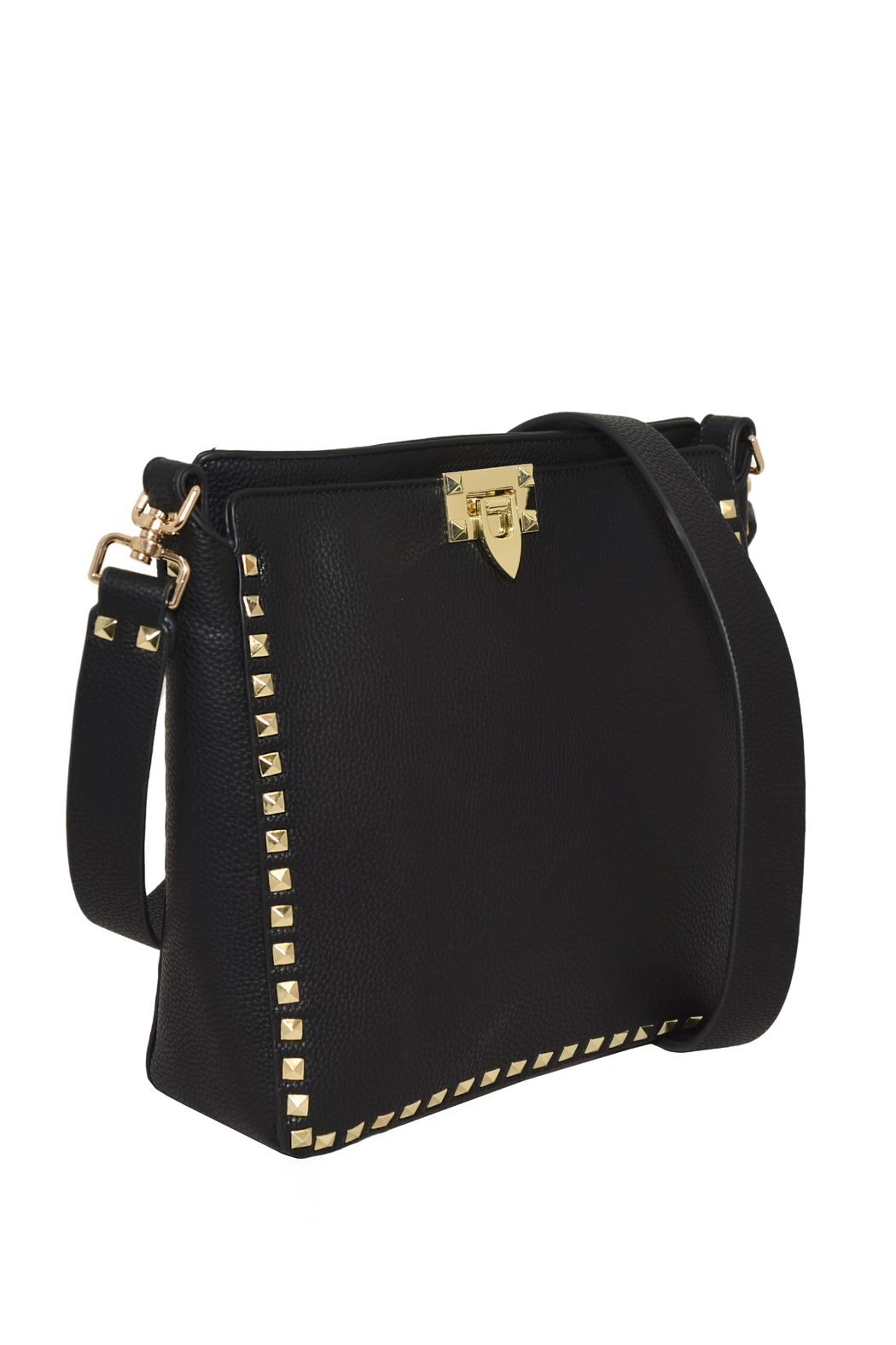 INZI Large Studded Crossbody - Side Cropped Image