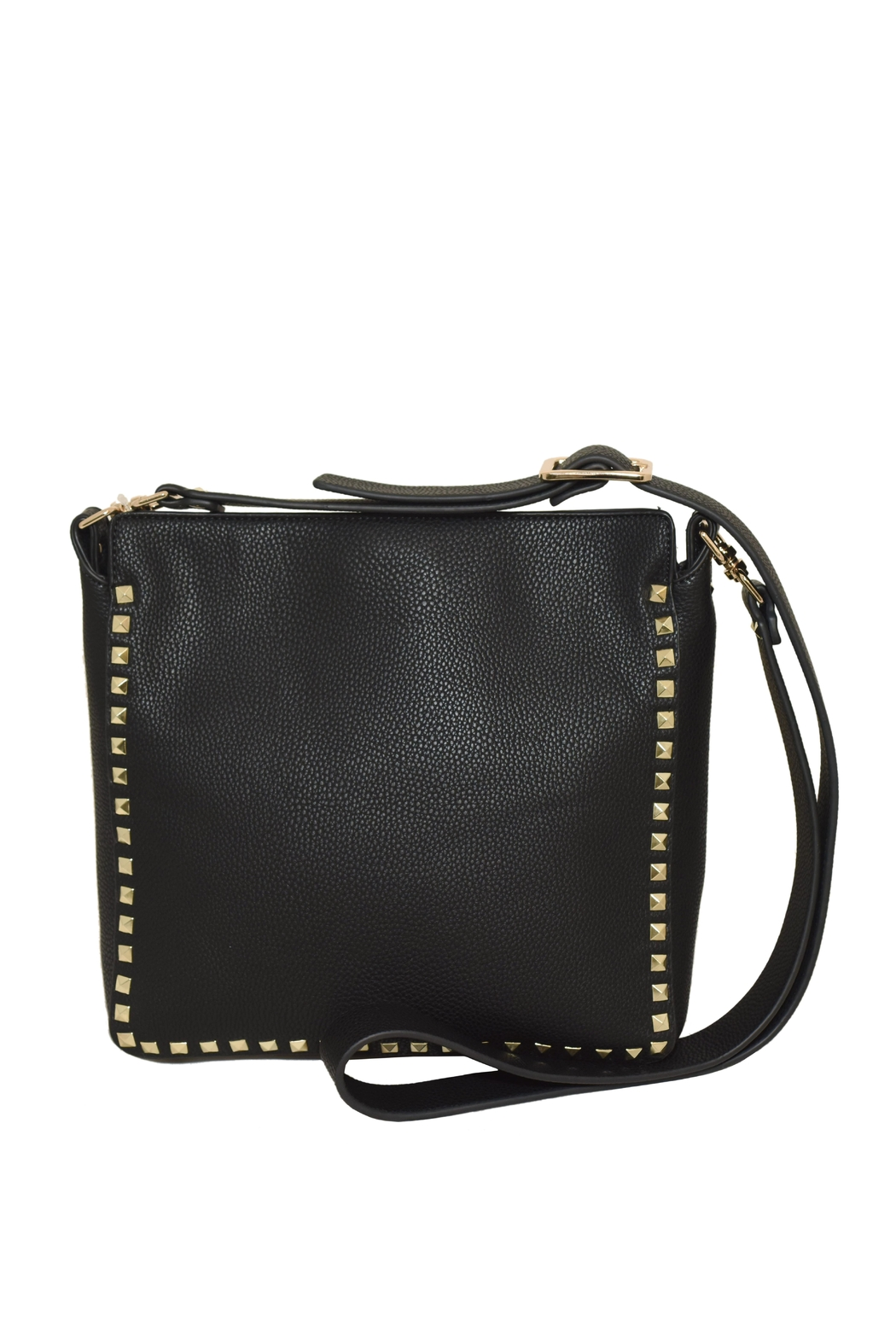 INZI Large Studded Crossbody - Back Cropped Image