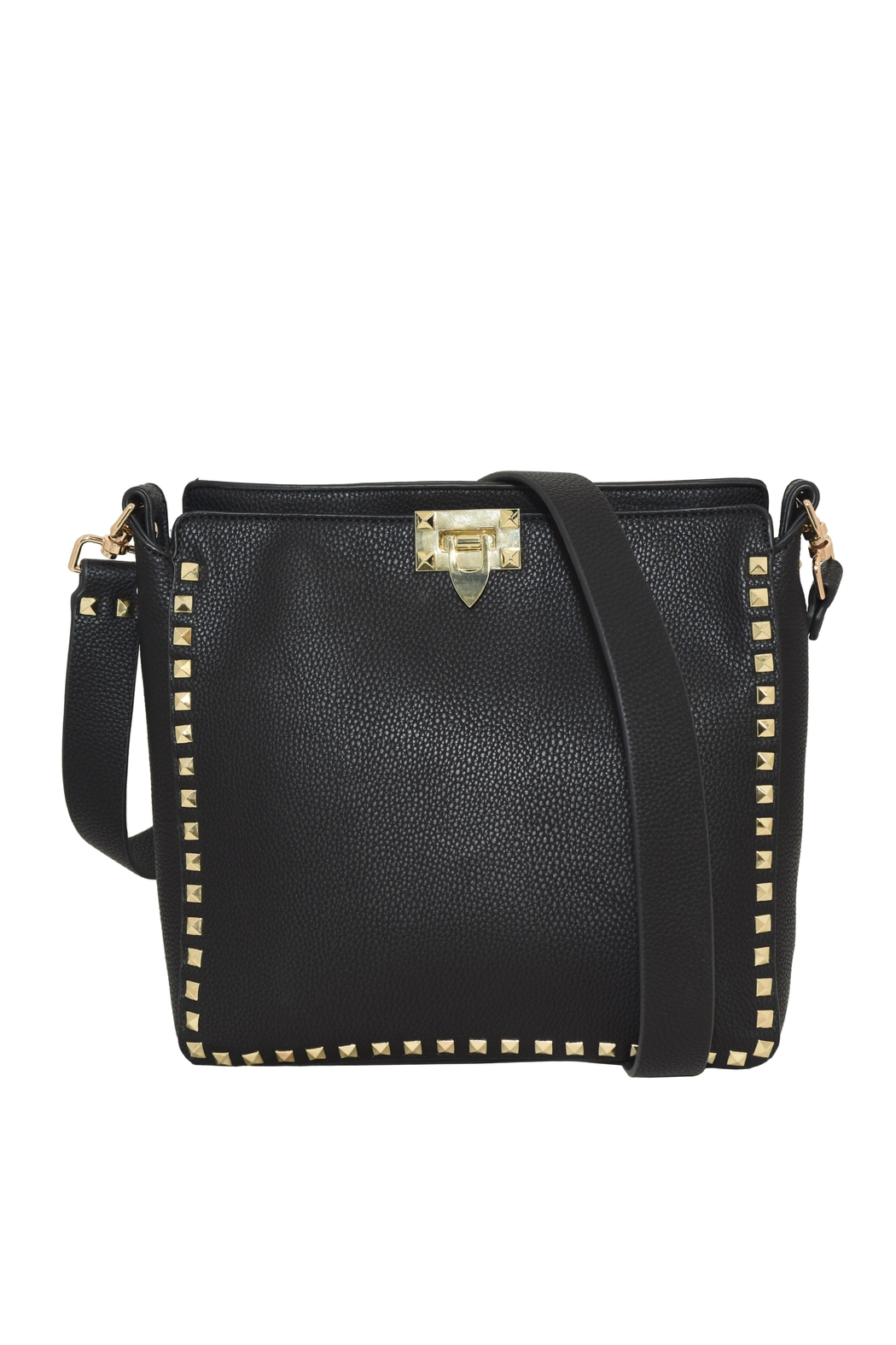 INZI Large Studded Crossbody - Main Image
