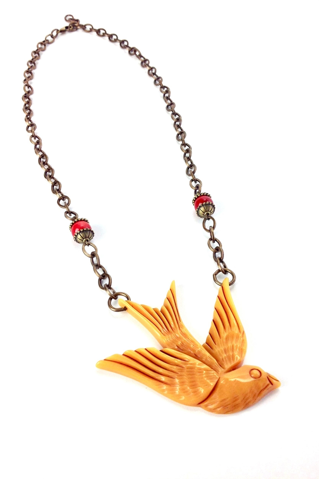 GHome2 Large Swallow Necklace - Side Cropped Image