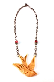 1930s Jewelry | Art Deco Style Jewelry Large Swallow Necklace $98.00 AT vintagedancer.com