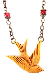 GHome2 Large Swallow Necklace - Front full body