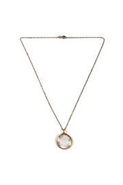 Lets Accessorize Large-Swarovski-Crystal Pendant Necklace - Product Mini Image