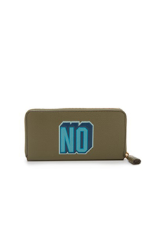 Anya Hindmarch Large Zip Round Wallet Yes/No - Alternate List Image