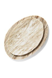 Two's Company Larger Marble Plate - Product Mini Image