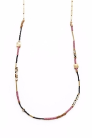 Larissa Loden Jasper Damara Necklace - Front cropped