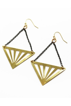 Larissa Loden Rays Earrings - Product List Image