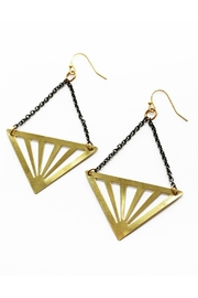 Larissa Loden Rays Earrings - Product Mini Image