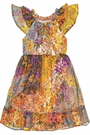 Mimi and Maggie Larkspur Midi Peasant Dress - Product Mini Image