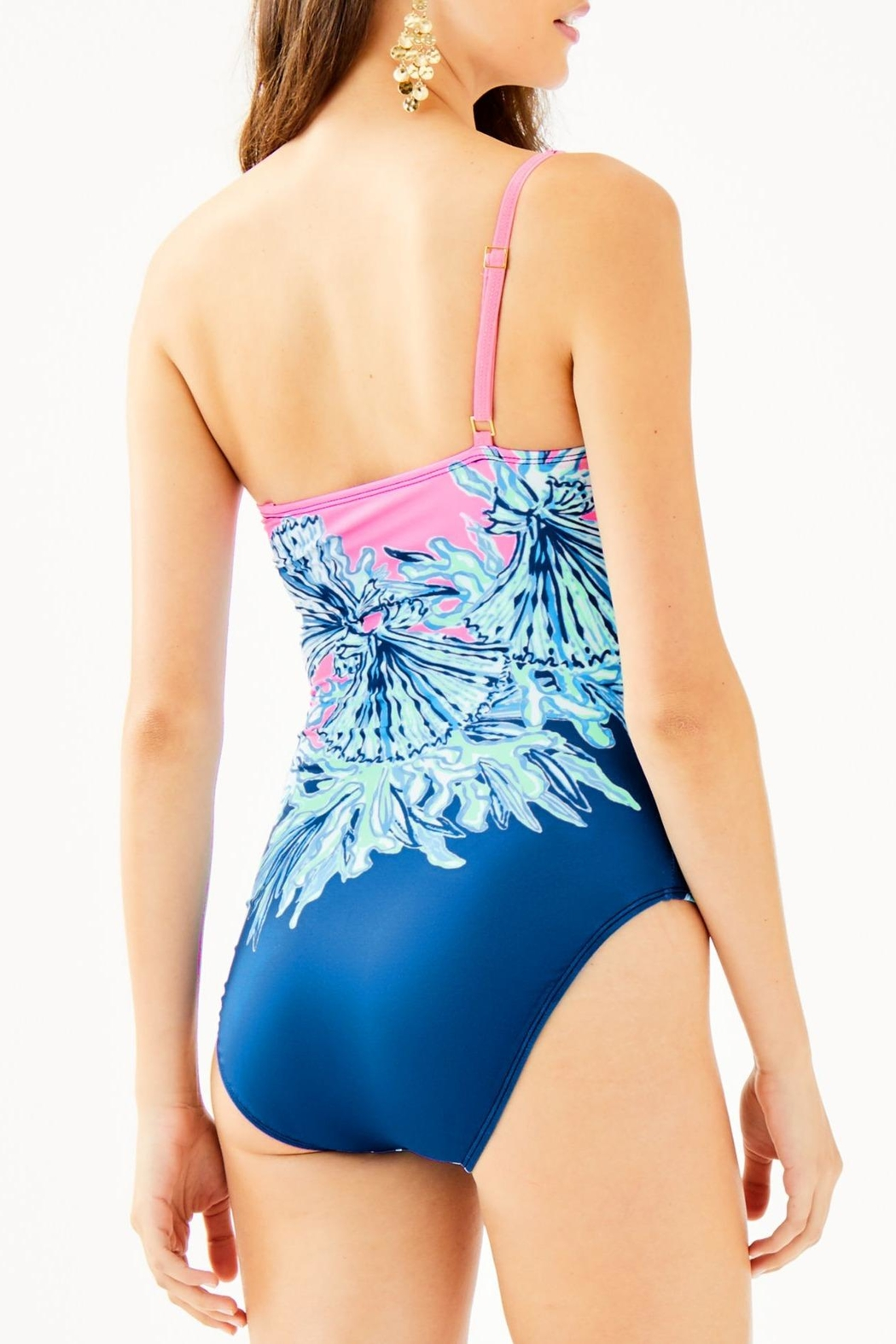 Lilly Pulitzer Larue One-Piece Swimsuit - Front Full Image